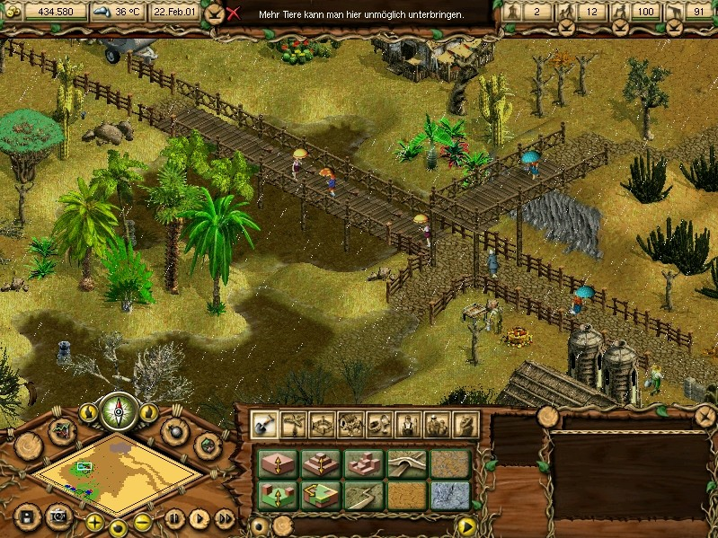 Screenshot of Wildlife Park (PC)