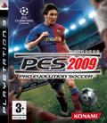 UK Boxshot of Pro Evolution Soccer 2009 (PS3)