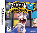 UK Boxshot of Rayman Raving Rabbids: TV Party (DS)