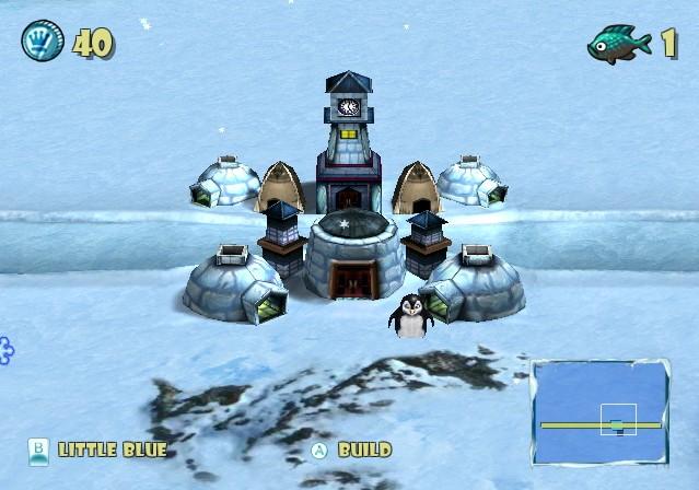 screen1 large Defendin de Penguin [Wii]