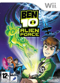 UK Boxshot of Ben 10: Alien Force (NINTENDO Wii)