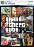 UK Boxshot of Grand Theft Auto IV (PC)