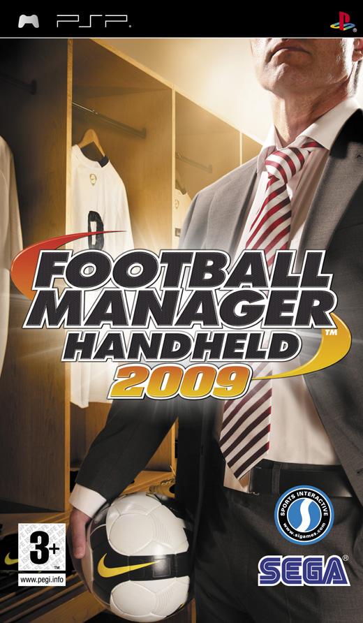 Boxshot of Football Manager 2009 Handheld (PSP)