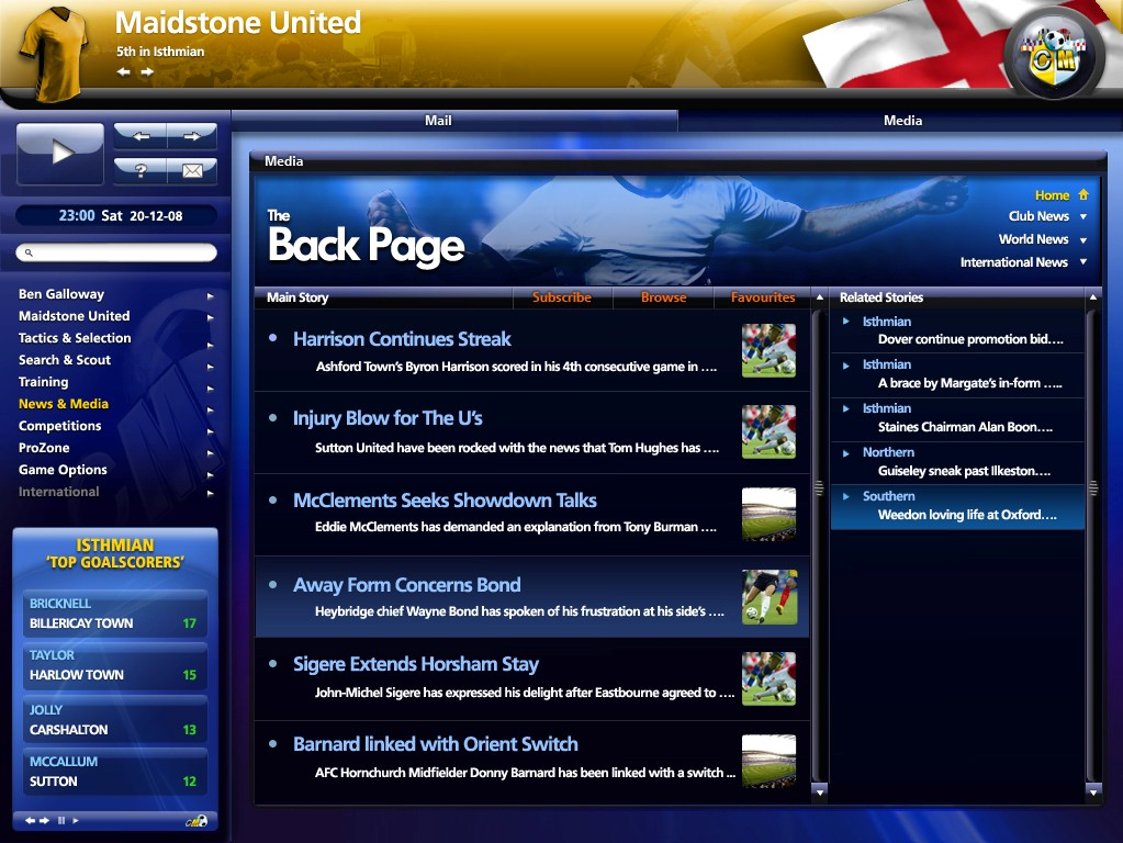 Championship Manager 2010, x Mediafire [ Full - Pc ] - Identi