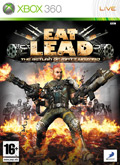 UK Boxshot of Eat Lead: The Return of Matt Hazard (XBOX360)