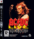 UK Boxshot of AC/DC Live: Rock Band (PS3)