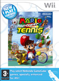 UK Boxshot of Mario Power Tennis (NINTENDO Wii)
