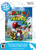US Boxshot of Mario Power Tennis (NINTENDO Wii)