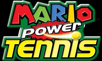 Logo of Mario Power Tennis (NINTENDO Wii)