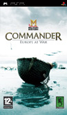 UK Boxshot of Military History Commander: Europe at War (PSP)