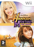 UK Boxshot of Hannah Montana The Movie (NINTENDO Wii)