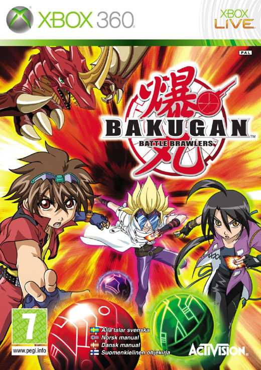 [XBOX360] Bakugan: Battle Brawlers [2009/ENG]