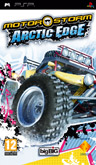 UK Boxshot of MotorStorm: Arctic Edge (PSP)