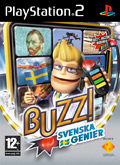 UK Boxshot of Buzz! Svenska Genier (PS2)