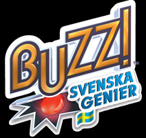 Logo of Buzz! Svenska Genier (PS2)