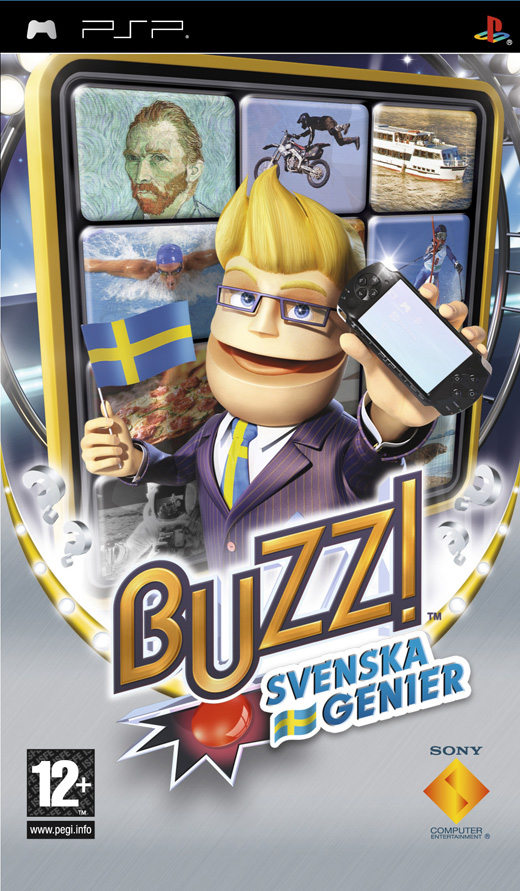 Buzz Svenska Genier لــلــPSP