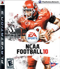US Boxshot of NCAA Football 10 (PS3)
