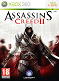 UK Boxshot of Assassin's Creed II (XBOX360)