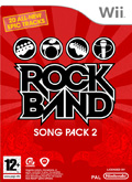 UK Boxshot of Rock Band: Song Pack 2 (NINTENDO Wii)