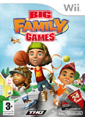 UK Boxshot of Big Family Games (NINTENDO Wii)