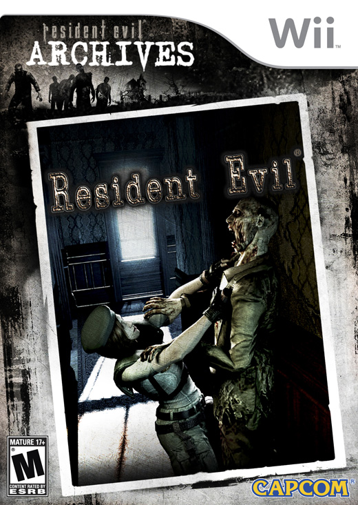Resident Evil Archives PAL Wii WiiERD preview 0
