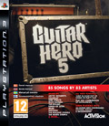 UK Boxshot of Guitar Hero 5 (PS3)