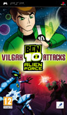 UK Boxshot of Ben 10: Alien Force - Vilgax Attacks (PSP)