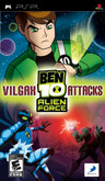 US Boxshot of Ben 10: Alien Force - Vilgax Attacks (PSP)