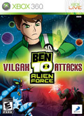 US Boxshot of Ben 10: Alien Force - Vilgax Attacks (XBOX360)