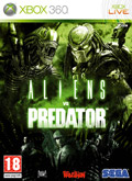 UK Boxshot of Aliens vs Predator (XBOX360)