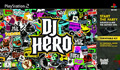 UK Boxshot of DJ Hero (PS2)