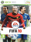 UK Boxshot of FIFA 10 (XBOX360)