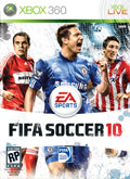 US Boxshot of FIFA 10 (XBOX360)