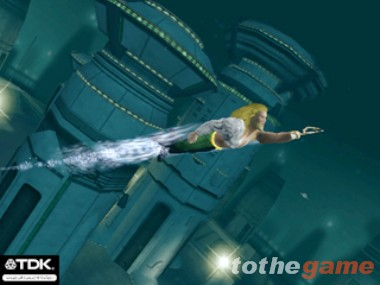 Screenshot of Aquaman: Battle for Atlantis (XBOX)