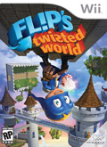 US Boxshot of Flip's Twisted World (NINTENDO Wii)