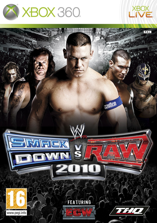 WWE SmackDown vs. Raw 2010 (2009) Xbox Ps3 Ps4 Pc jtag rgh dvd iso Xbox360 Wii Nintendo Mac Linux