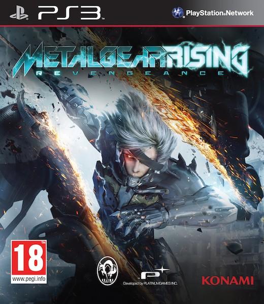 boxshot uk large Metal Gear Rising Revengeance PS3 DUPLEX