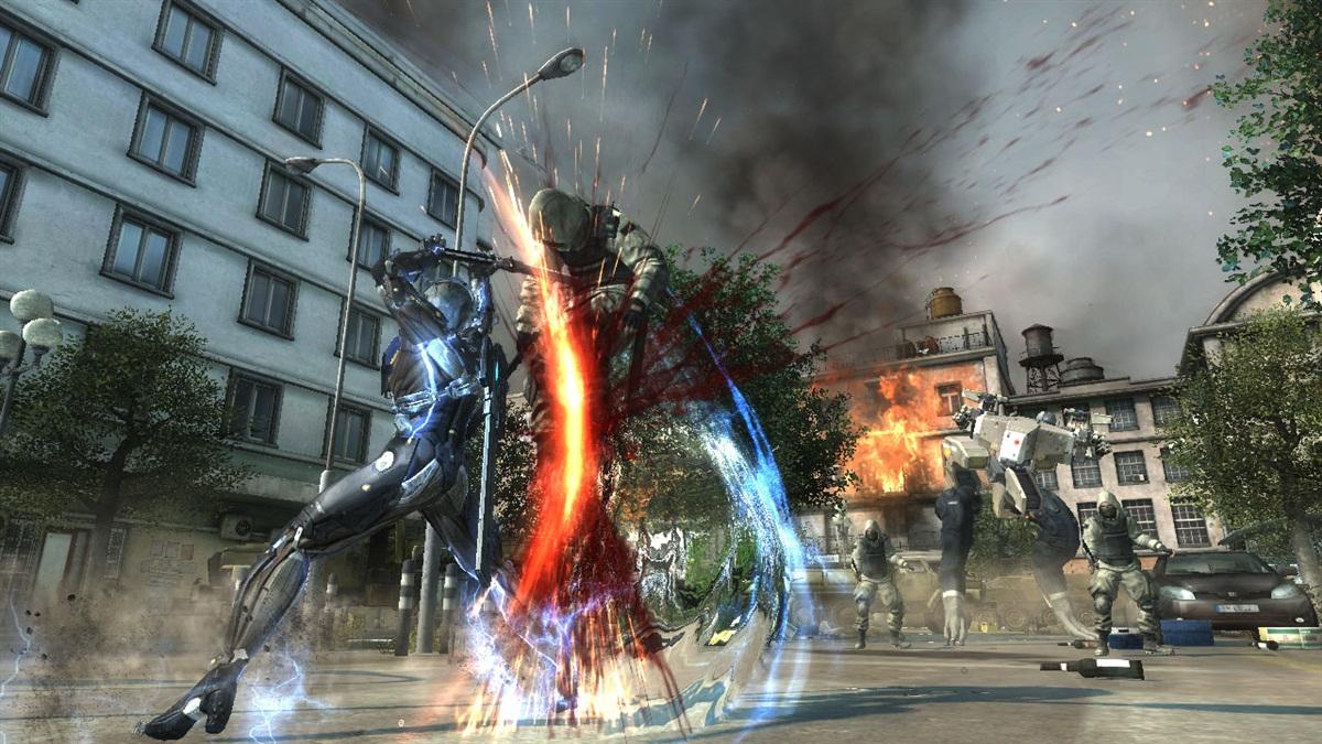 screen3 large Metal Gear Rising Revengeance PS3 DUPLEX