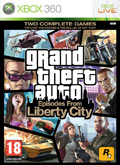 UK Boxshot of Grand Theft Auto: Episodes from Liberty City (XBOX360)