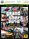 US Boxshot of Grand Theft Auto: Episodes from Liberty City (XBOX360)