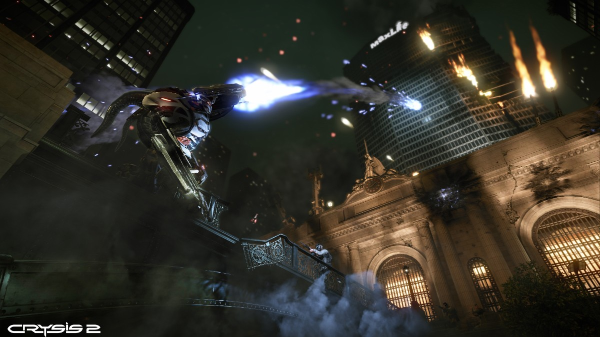 Screenshot of Crysis 2 (XBOX360)