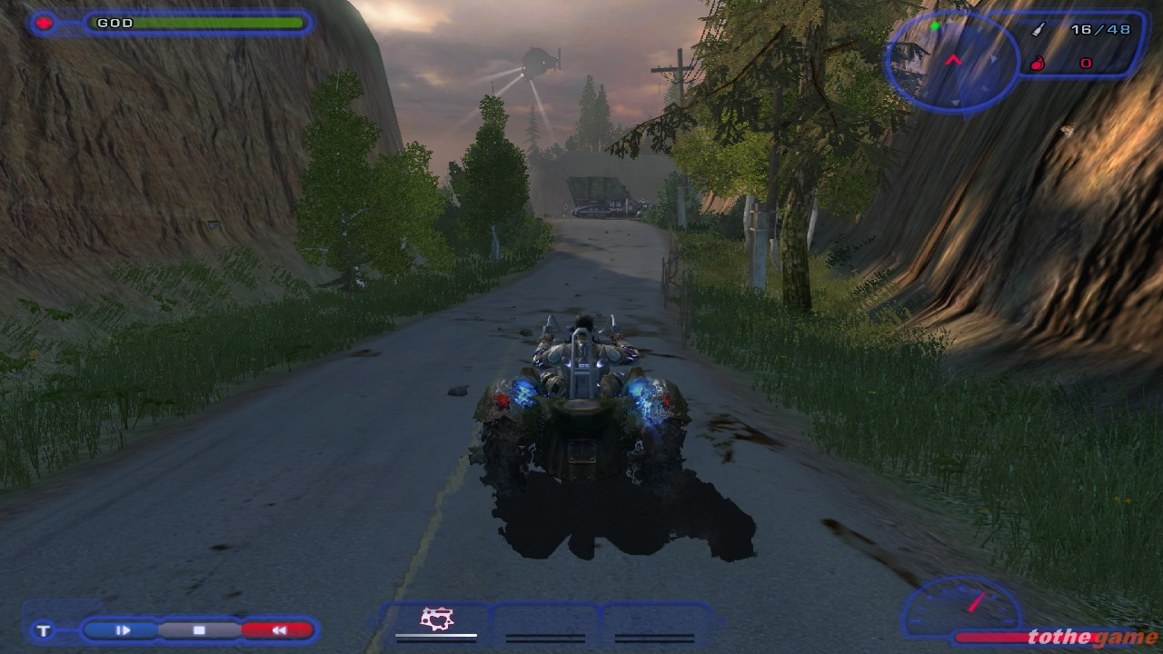 Screenshot of TimeShift (PC)