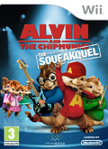 UK Boxshot of Alvin and The Chipmunks: The Squeakquel (NINTENDO Wii)