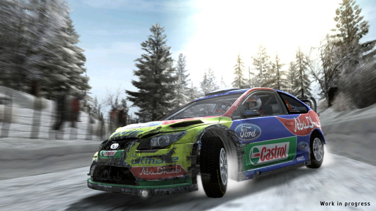 Screenshot of WRC: FIA World Rally Championship (PC)