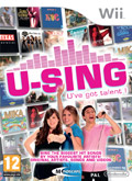 UK Boxshot of U-Sing (NINTENDO Wii)