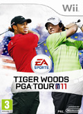 UK Boxshot of Tiger Woods PGA Tour 11 (NINTENDO Wii)